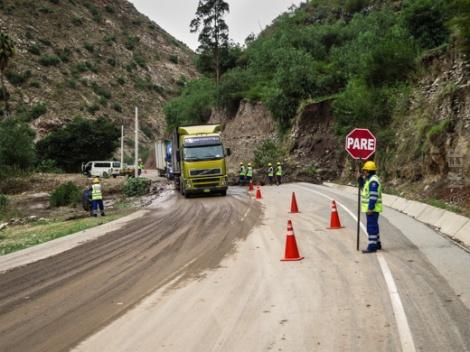 Αυτό το σκηνικό επαναλήφθηκε πολλές φορές στις ορεινές διαδρομές μας στο Περού.