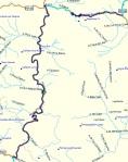 17/12/2012. Offroad sections Β (dark blue): 70.9 klms. Βατός πατημένος χωματόδρομος, εύκολος και γρήγορος. Με βροχή λίγη προσοχή.