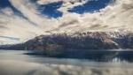 Στο μεγαλύτερο μέρος της διαδρομής, η θέα προς τη λίμνη General Carrera προσφέρει τέτοιες εικόνες